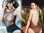 """Nhờ đâu 4 mỹ nữ Việt nóng bỏng này có """"vòng ba hơn 1 mét""""?"""