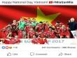 Bất ngờ nhận hàng loạt lời chúc mừng Quốc khánh 2/9 từ Dortmund, Bayern, Arsenal, Chelsea... trên Facebook
