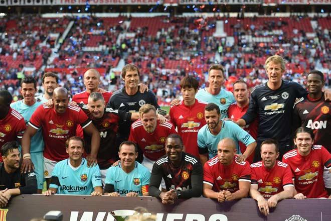 Huyền thoại MU – Barca: Cống hiến bữa tiệc ở Old Trafford - 5