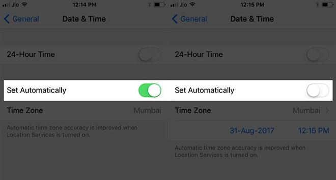 Sửa lỗi iPhone không thể kết nối với App Store - 2