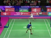 Thể thao - Siêu sao cầu lông Lee Chong Wei diễn tuyệt kĩ Vua tennis Federer