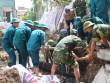 Tá hỏa phát hiện quả bom nặng 250kg khi đào móng nhà