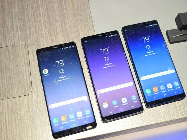 Samsung Galaxy Note 8 phá lệ giao hàng sớm hơn