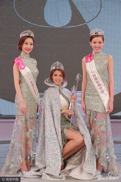Ứng xử kém người đẹp vẫn đăng quang Hoa hậu Hong Kong - 2