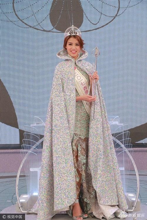 Ứng xử kém người đẹp vẫn đăng quang Hoa hậu Hong Kong - 6