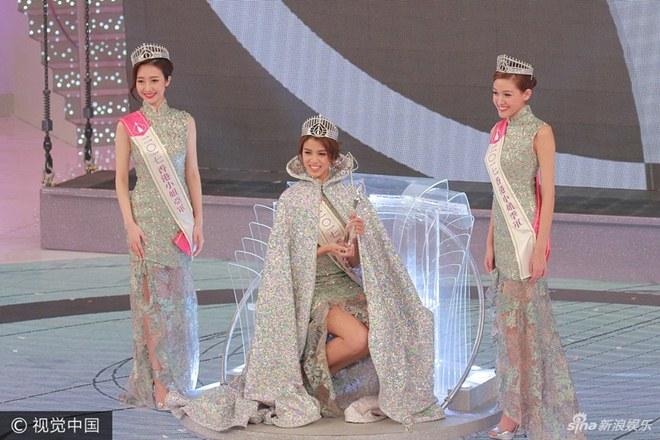 Ứng xử kém người đẹp vẫn đăng quang Hoa hậu Hong Kong - 4
