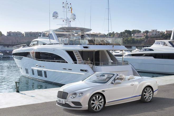 Bentley Continental GT mui trần đặc biệt phỏng theo du thuyền - 1