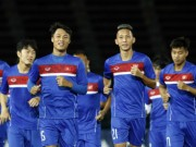 """Bóng đá - ĐT Việt Nam không giấu bài trước """"Ronaldo Campuchia"""""""
