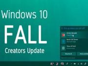 Microsoft Windows 10 Fall Creators Update phát hành tháng sau