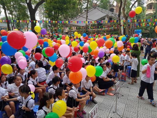 Những hình ảnh đầu tiên về lễ khai giảng năm học mới trên cả nước - 14