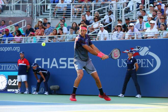 Del Potro - Thiem: Rượt đuổi 5 set, đỉnh cao căng thẳng (vòng 4 US Open) - 1