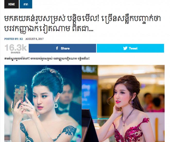 """Huyền My được báo Trung tấm tắc khen """"thiên thần Việt Nam"""" - 3"""