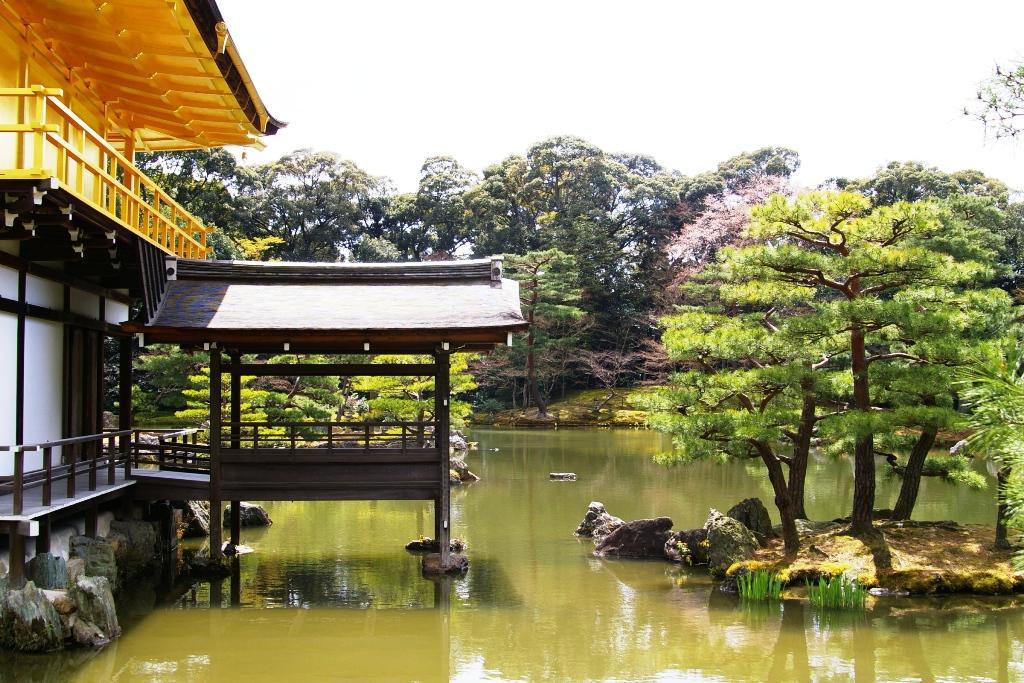 Choáng ngợp ngôi chùa được dát bằng vàng thật ở Nhật Bản - 5