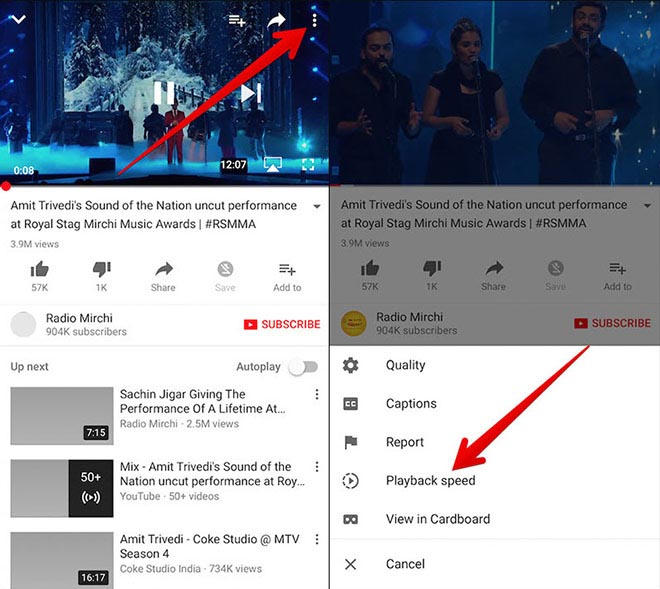 Thủ thuật YouTube: Cách xem video tua nhanh hoặc tua chậm cực thú vị - 2