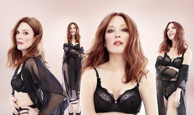 Cựu ảnh hậu Oscar U60 tự tin làm người mẫu đồ lót - 1