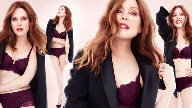 Cựu ảnh hậu Oscar U60 tự tin làm người mẫu đồ lót - 2
