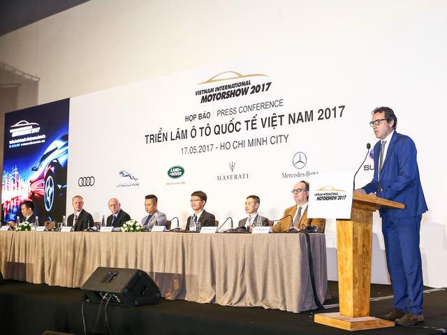 12 thương hiệu lớn tham gia Triển lãm ô tô quốc tế 2017 - 1