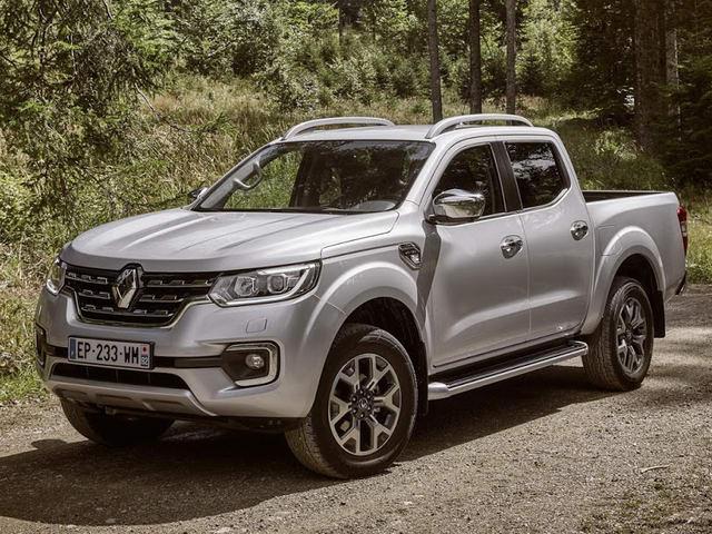 """Renault Alaskan: """"anh em"""" của Nissan Navara và Mercedes X-Class - 1"""