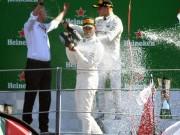 """Thể thao - Đua xe F1, Italian GP: """"Mũi tên bạc"""" bay vút, cho đối thủ """"hít khói"""""""