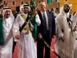 """Hoàng gia Ả Rập tặng nhiều quà """"độc"""" cho ông Trump"""