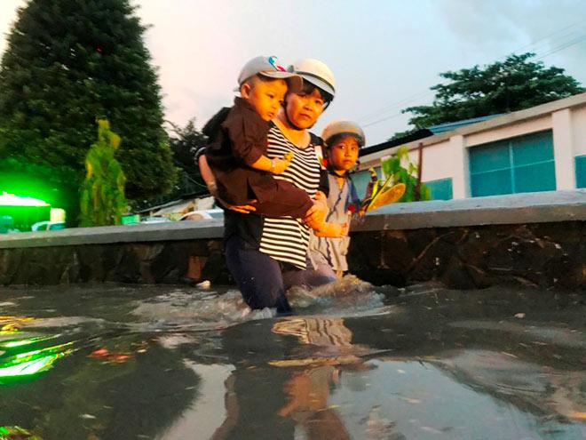 Cổ thụ đè sập 4 căn nhà ở Sài Gòn, 2 người mắc kẹt - 6
