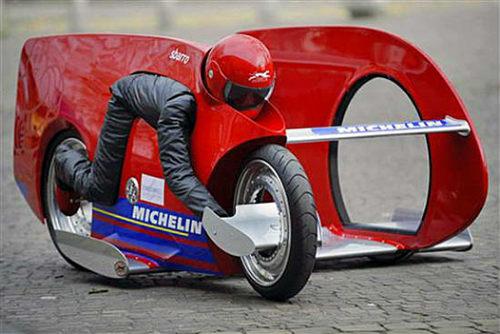 Top 10 mẫu xe môtô kì quặc nhất hành tinh (P2) - 6