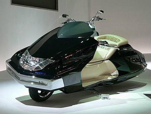 Top 10 mẫu xe môtô kì quặc nhất hành tinh (P2) - 2