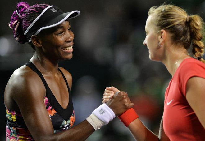 Venus - Kvitova: Quần chiến 155 phút, giành vé ngoạn mục (Tứ kết US Open) - 1