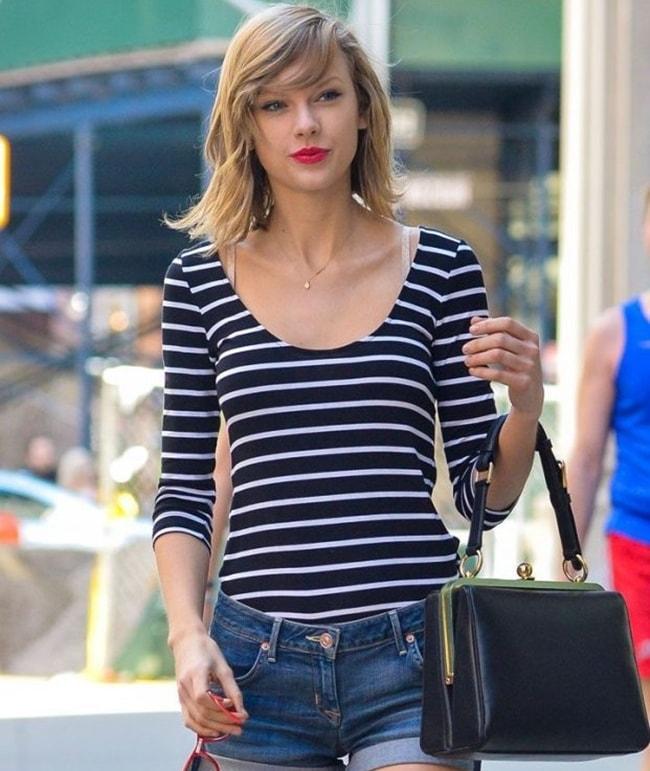 Vòng 1 bỗng nảy nở, Taylor Swift vướng nghi vấn dao kéo - 1