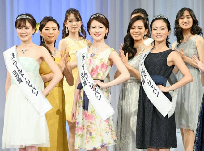 Ngỡ ngàng vì thí sinh, hoa, á hậu Nhật Bản xấu đều - 15