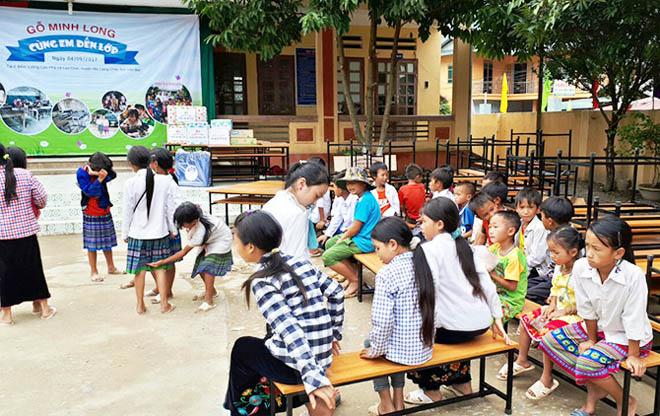 Khai giảng ở thung lũng Lìm Thái - Mù Cang Chải - 2