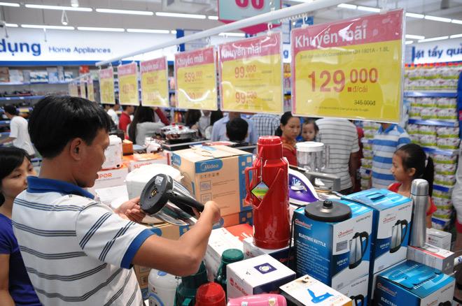 Co.opmart giảm giá mạnh trái cây, bếp ga, bột giặt vào 3 ngày cuối tuần - 1