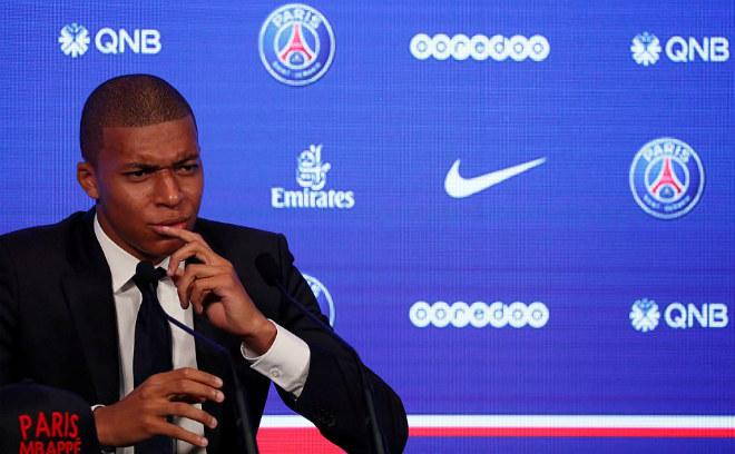 """PSG náo loạn vì """"Bom tấn"""" Mbappe 180 triệu euro: Từng suýt đến Arsenal - 6"""