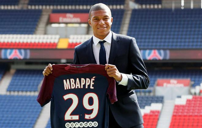 """PSG náo loạn vì """"Bom tấn"""" Mbappe 180 triệu euro: Từng suýt đến Arsenal - 8"""