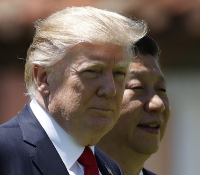 Donald Trump và Tập Cận Bình cùng lên án Triều Tiên - 1