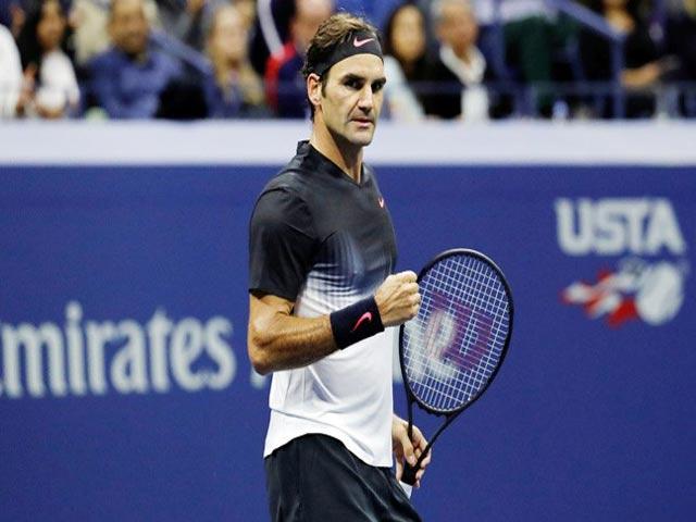 Clip hot US Open: Del Potro thuận tay như tên lửa, Federer không đỡ nổi - 1