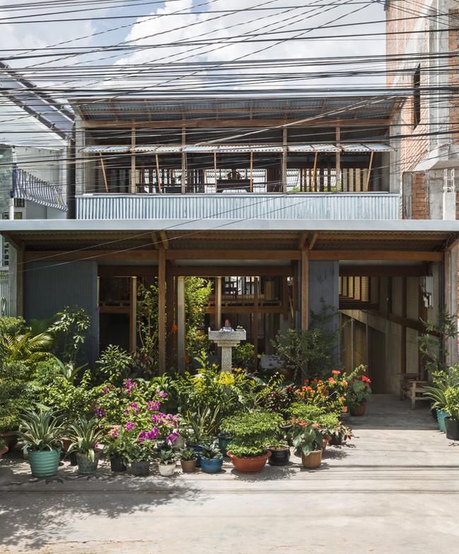 Căn nhà sáng tạo được tạp chí kiến trúc hàng đầu thế giới ArchDaily hết lời khen ngợi lần này nằm ở ngoại ô thị xã Châu Đốc, tỉnh An Giang.