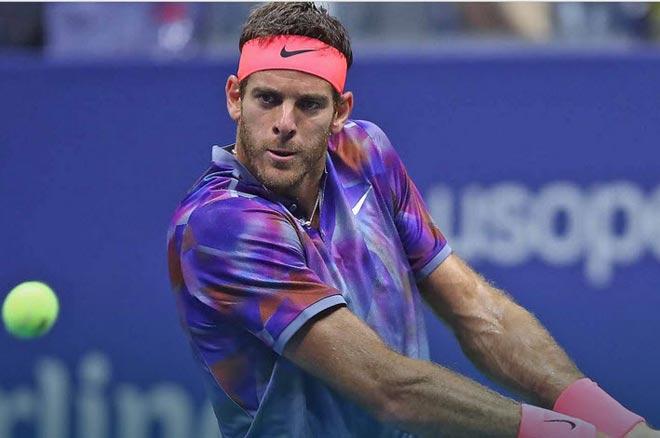"""Phá kinh điển Nadal - Federer, fan gọi Del Potro là """"Đấng cứu thế"""" - 1"""