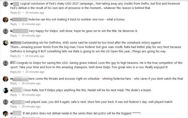 """Phá kinh điển Nadal - Federer, fan gọi Del Potro là """"Đấng cứu thế"""" - 2"""