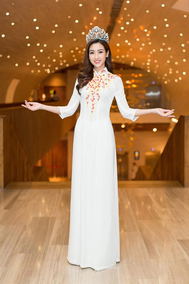 """Hoa hậu Lào """"xinh như tiên"""" lần đầu đọ sắc Đỗ Mỹ Linh - 6"""