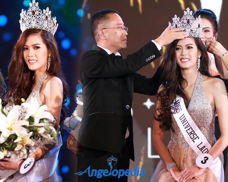 """Hoa hậu Lào """"xinh như tiên"""" lần đầu đọ sắc Đỗ Mỹ Linh - 3"""