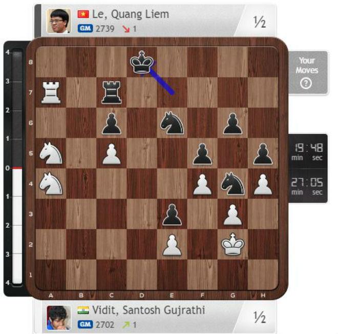 Tin thể thao HOT 7/9: Quang Liêm thất bại đáng tiếc giải cờ vua VĐTG - 1