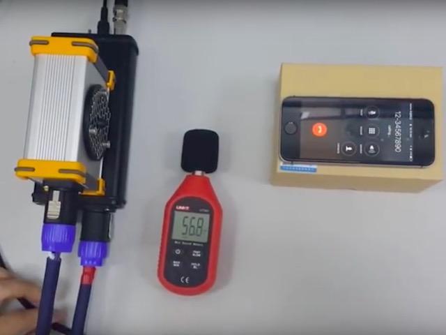 Video: Hack điện thoại, ô tô bằng luồng âm thanh bí mật