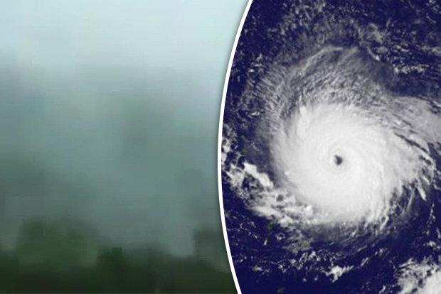 """Âm thanh lạ đáng sợ khi siêu bão """"quái vật"""" tràn qua Caribe - 1"""
