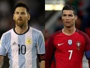 """Bóng đá - Messi & Ronaldo """"khóc cùng nhau"""", dễ lỡ World Cup 2018"""
