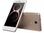Lenovo ra mắt hai smartphone tầm trung là K8 và K8 Plus
