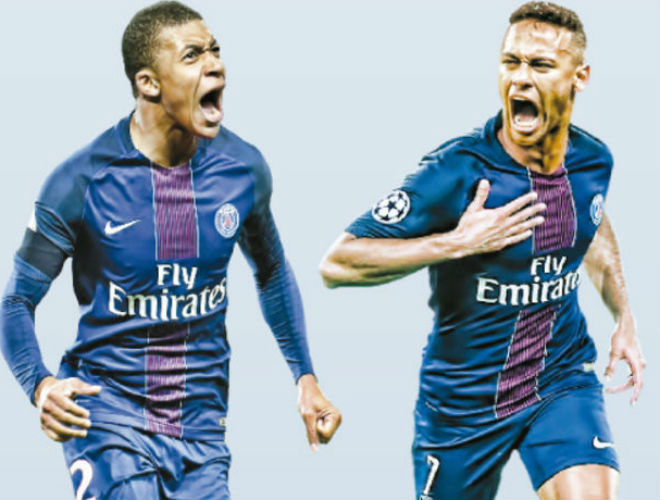 "Có ""song kiếm"" Neymar-Mbappe, PSG vẫn mơ Ronaldo 1 tỷ euro - 2"