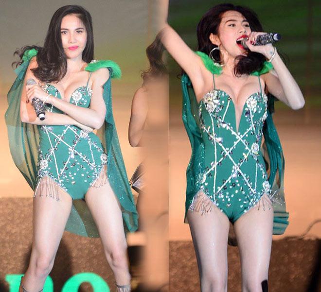 Đồ diễn như bikini của ca sĩ Việt: Sao cho hết phản cảm? - 1