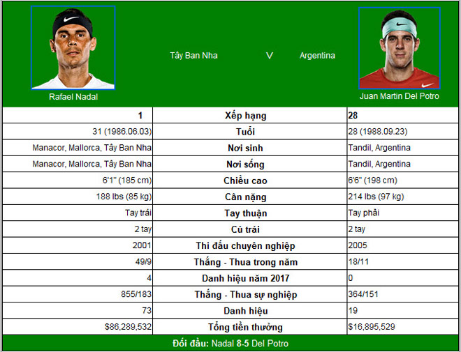 "Chi tiết Nadal - Del Potro: Bất lực trước ""Bò tót"" (KT) - 7"