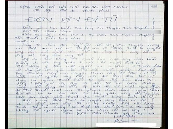 Người tố bị hiếp dâm 2 lần gửi đơn xin đi tù: Xử sao? - 1